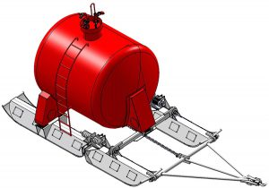 Drawing_12m3_Sled_tanker